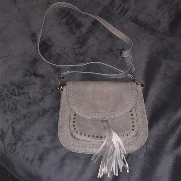 Handbags - Gray crossover bag
